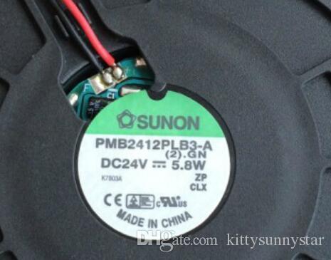 SUNON 12032 PMB2412PLB3-A 2 GN 24V 5.8W 2W Inverter Lüfter