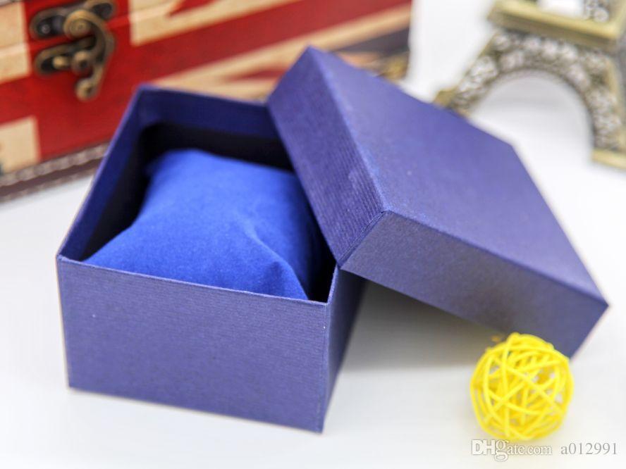 DHL Frete Grátis Atacado New Prático Caixa de Jóias Caixas de Presente Presente para Bracelet Bangle Colar Brincos Assista Caso com Almofada De Espuma