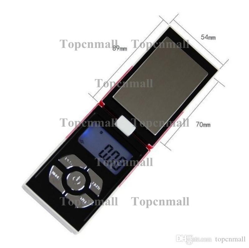 NUEVO con o sin baterías 100 g x 0,01 g Balanza de bolsillo digital Balanzas de peso con peso Balanzas de caja