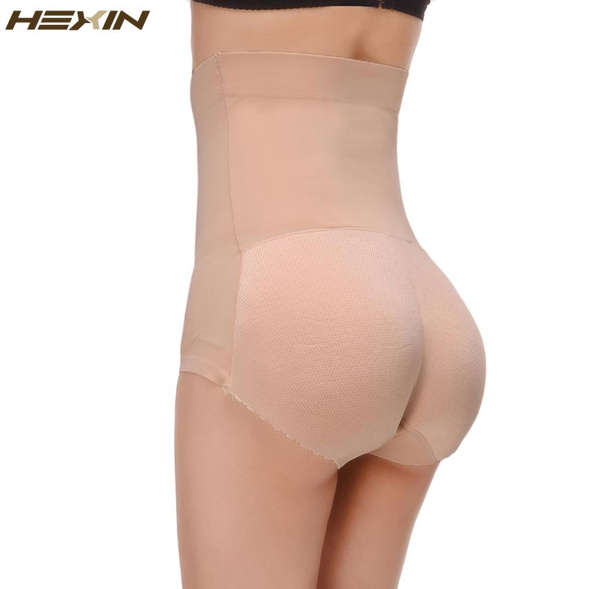 94b926677f4 Wholesale- HEXIN Breathable Pants Women Seamless Traceless Padded ...