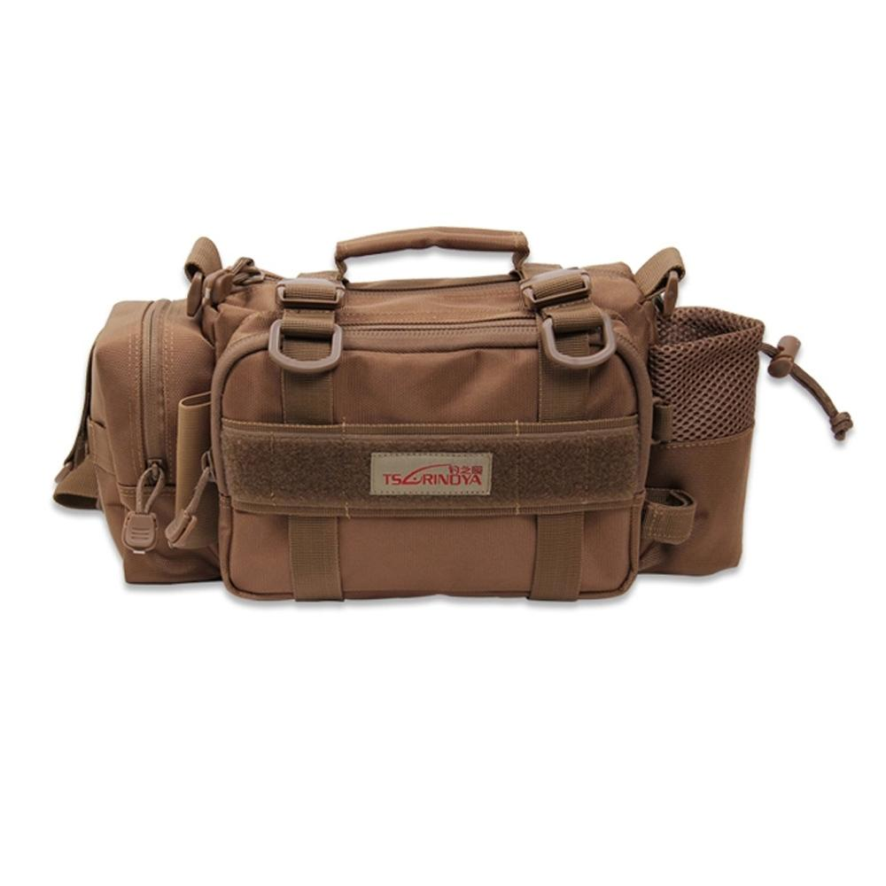 Trulinoya M5 Angeln Taschen Outdoor-Multifunktions Lure Tasche Angeln Hüfttasche Handtasche Schultertasche Angelgerät