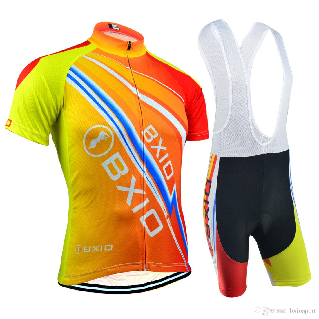 d40f20c21 BXIO Brand Mountain Road Cycling Jerseys Summer Short Sleeve Set Outdoor  Sport Bicycle Jerseys Breathable Quick Dry Bikes Clothes BX 100 Mountain  Bike ...