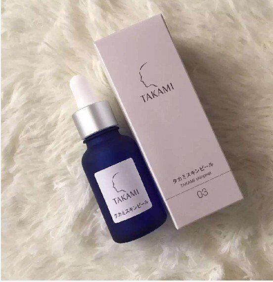 2017 جودة عالية اليابان تاكامي الجلد قشر استيقظ الجلد التطهير العميق تشديد المسام 30 ملليلتر مجانية