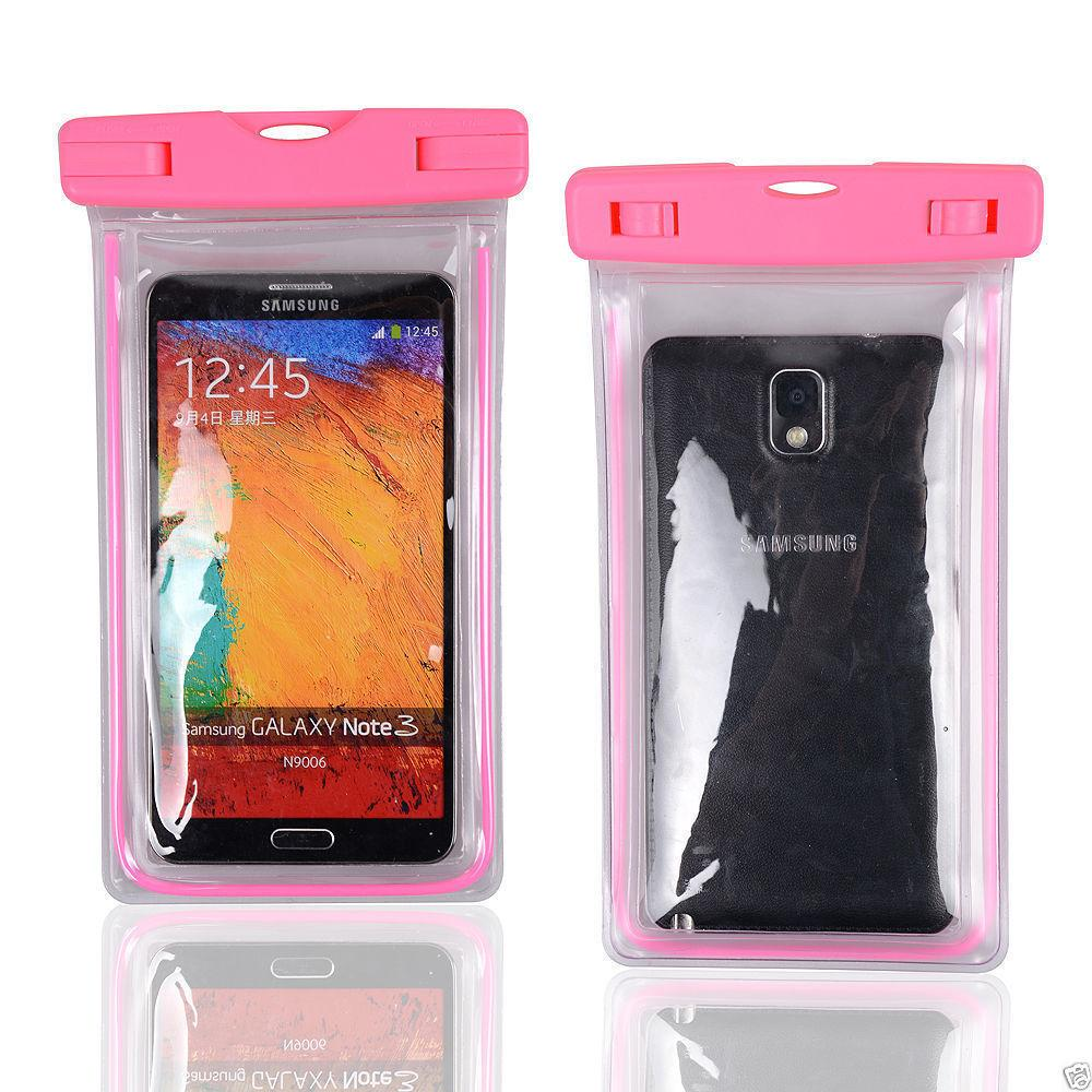 Luiminous Waterproof Case Pouch Swimming Diving Phone Case Cover For iphone 7plus 7 Samsung s8pus s8 Universal