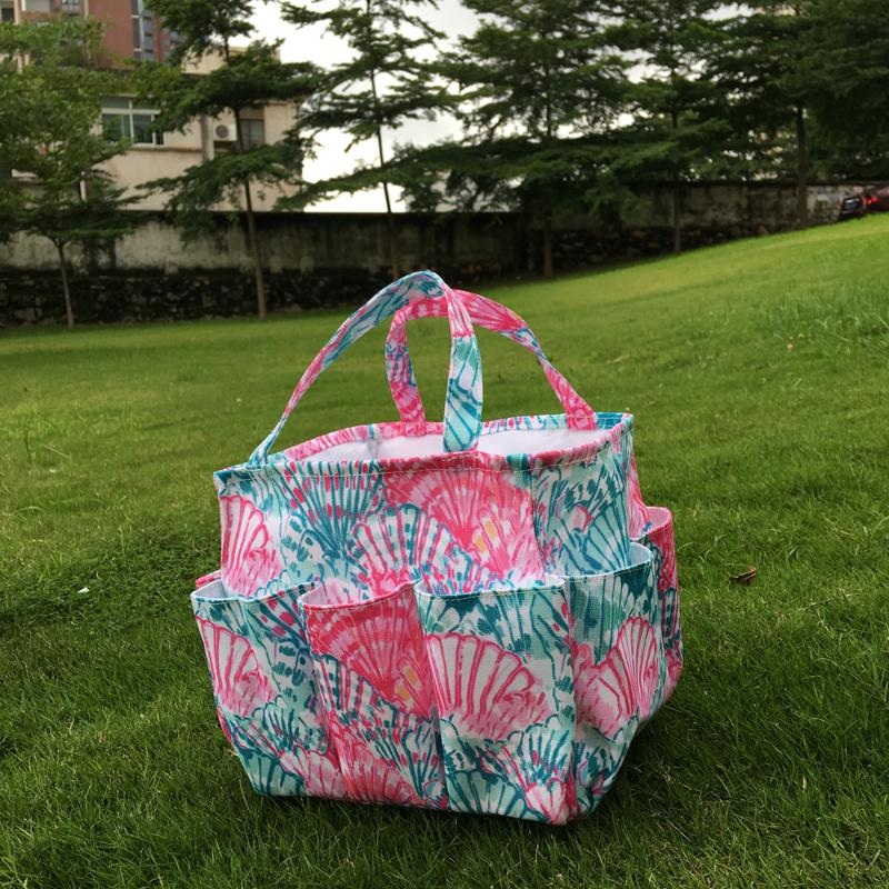 Floral Garden Tool Bag Crown Utility Bag Tool Hanging Tote in Gift Toy Bag Kids Beach Tote DOMIL106609