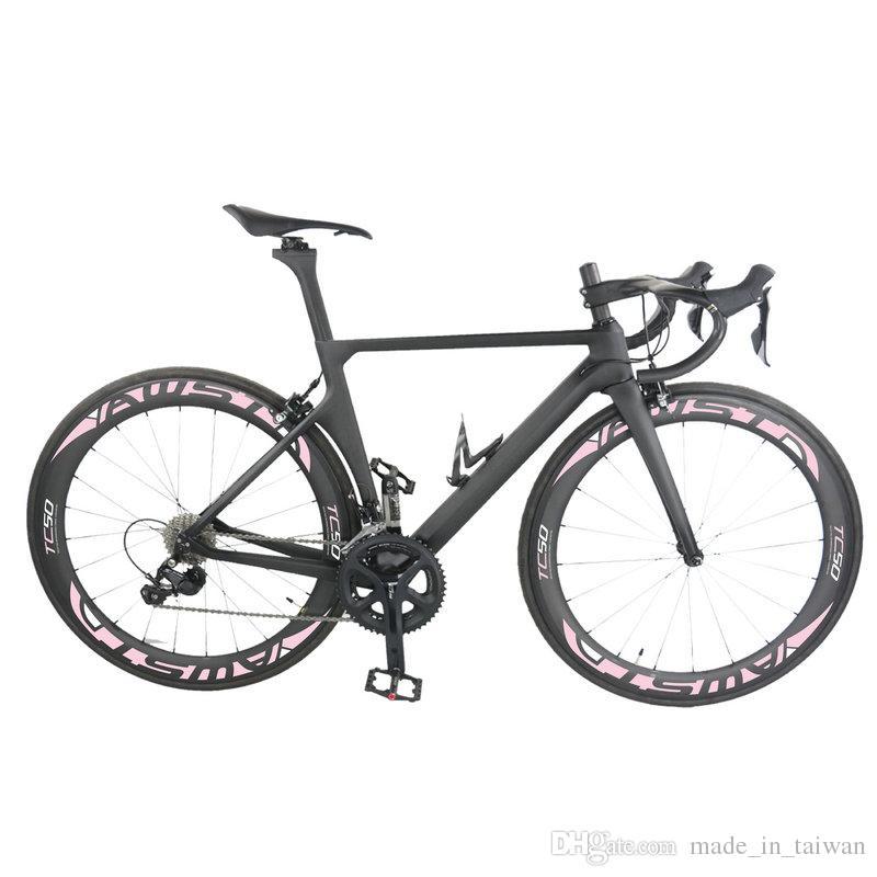 Top Sale Matt 1k T1100 Full Carbon Bike Frame Set Toray T1100 Road ...