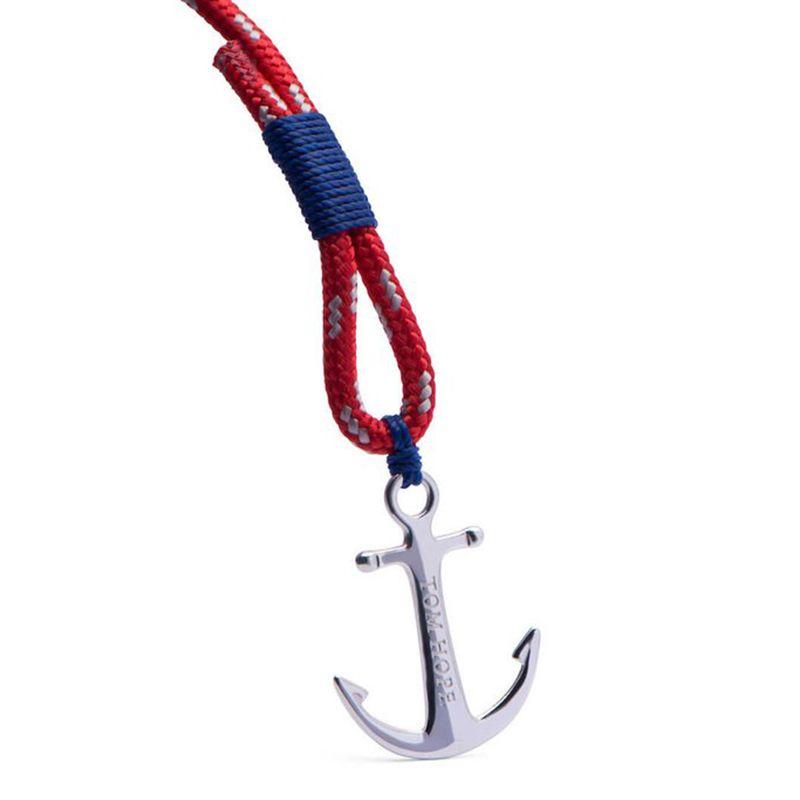 Tom esperança pulseira 4 tamanho encantos âncora fio Blue Arctic vermelho cadeias de corda pulseira de aço inoxidável pulseira com caixa e tag TH9