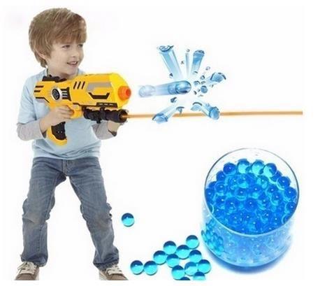 HEIßER VERKAUF 10000 teile / beutel Wasser Perlen MarvelBeads für Orbeez Spa Refill Sensorisches Spielzeug Weichen Kristall Kugel Paintball Kugel Crystalbullet Watergunb
