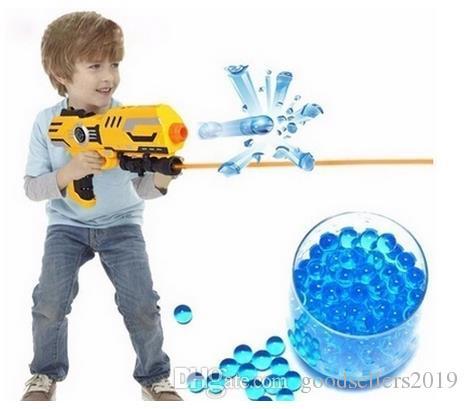 VENTA CALIENTE 10000 unids / bolsa Granos de Agua MarvelBeads para Orbeez Spa Recarga Sensorial Juguete Bala de Cristal Blando Paintball Bullet Crystalbullet Watergunb