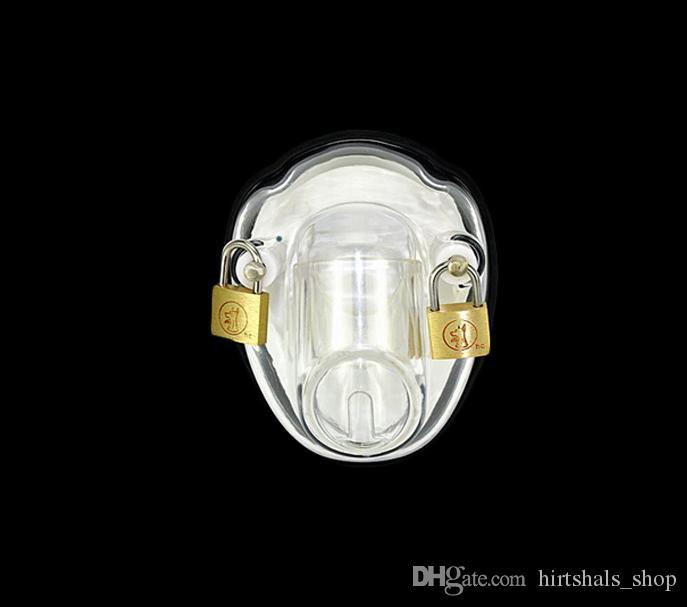 새로운 최신 디자인 작은 남성 수탉 케이지 반디 순결 장치 Peins 잠금 SM, BD 섹스 장난감 실리콘 순결 벨트