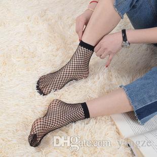 5 paar 2017 heißer verkauf mode frauen hochdehnbare kurze strumpfeinheit knöchel socken sexy fishnet massiv schwarze socks ck1103