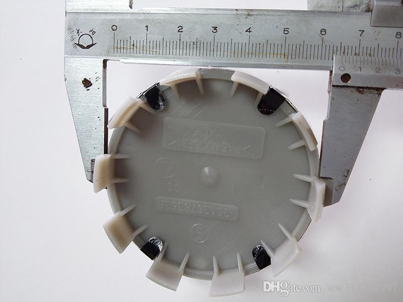 Accesorios del coche 500 unids 68 mm Azul Blanco 10 pin Auto Car Wheel Center tapas del cubo Rim Caps Insignia emblema del emblema para 1 3 6 5 7 8 Z3 Z4 M3 M5 X1 X3
