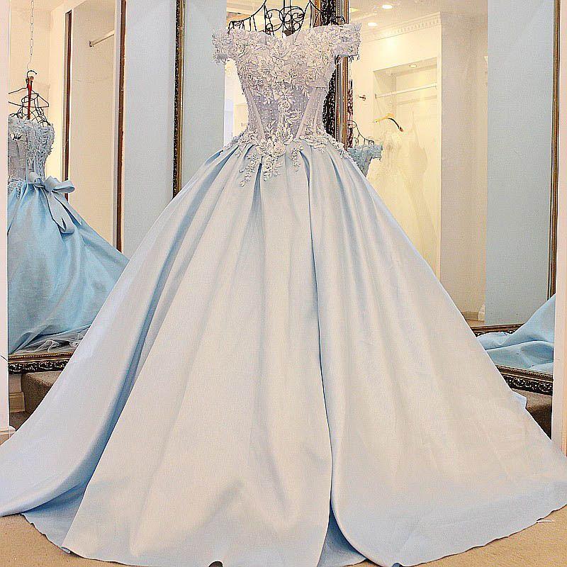 2017 Abendkleider Real Photos Elegant Evening Dress Long Appliues ...