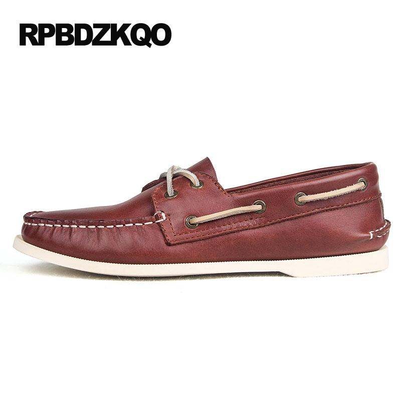 Spring Classic Fashion Comfort Breathable Slip On Mens Boat Shoes