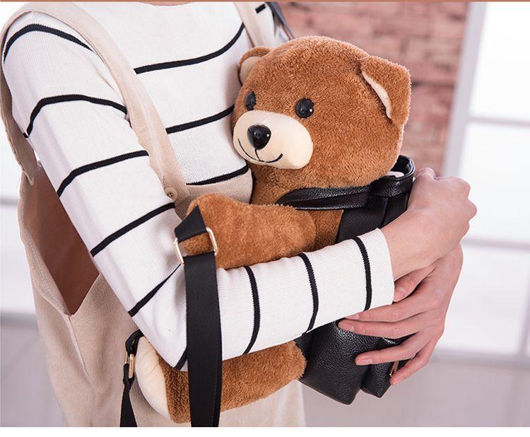 girls boys cute teddy bear backpack women backpack style designer backpacks handbag cartoon school bags kids toys