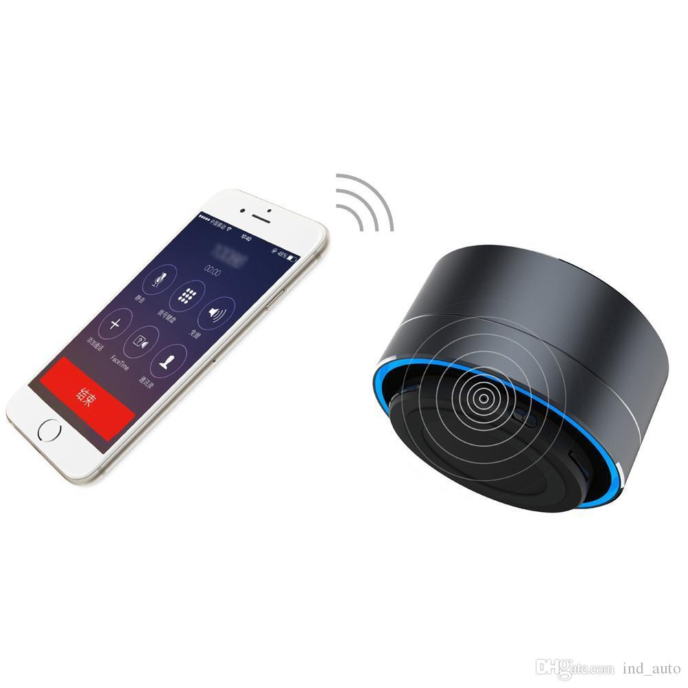 A10 Bluetooth Speaker Portable Mini Wireless Subwoofer Hands-free Call Stereo Speaker With TF Card Slot, AUX, FM Radio For Iphone Samsung