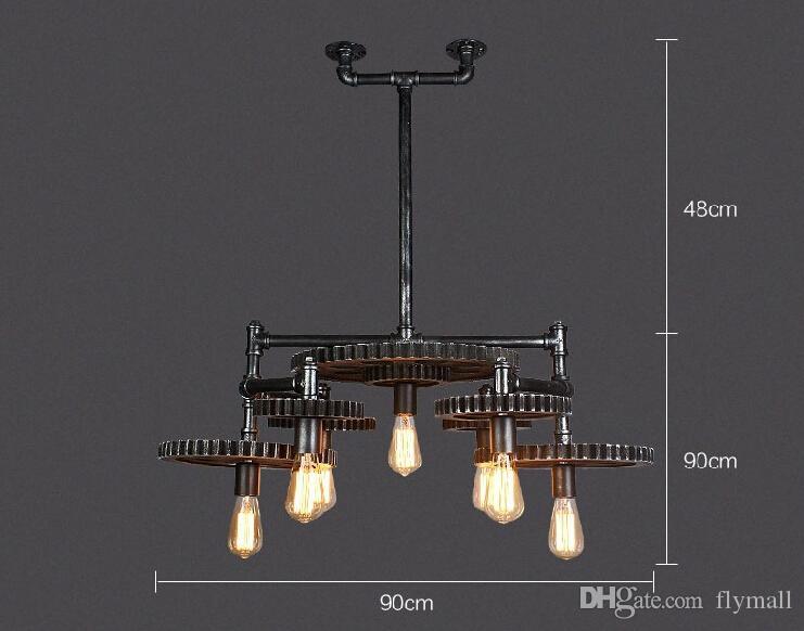 Lampadari moderni con tubi idraulici: illuminazione con tubi tubi
