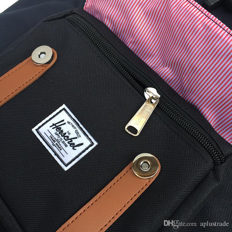 Fabrika Kaynağı Kanada Açık Sırt Çantası Moda H Marka Sırt Çantası 18 Renk Yüksekliği Kaliteli Okul Çantası 14.5L / 25L Ücretsiz Kargo