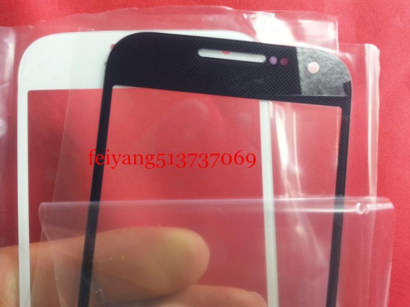 Vetro esterno di alta qualità la sostituzione di Samsung Galaxy S4 mini i9190 i9195 i9192 LCD frontale in vetro trasparente esterno
