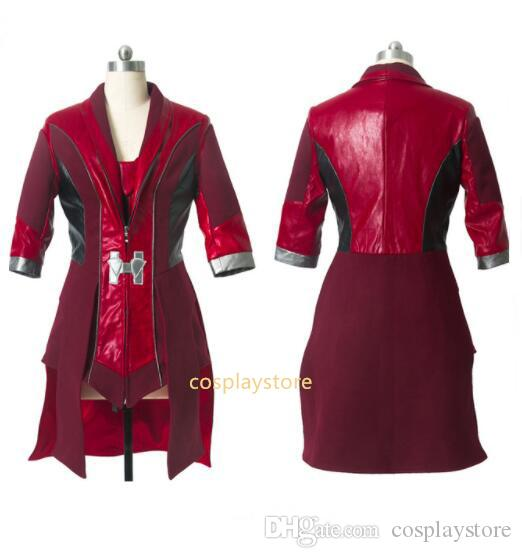Scarlet Witch Cosplay Avengers Age Of Ultron Wanda Maximoff ...