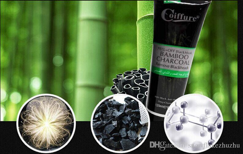 Bamboo charcoal peel off - black mask 120g remove blackheads Purification detoxification anti-wrinkle deep clean carry bright color of skin