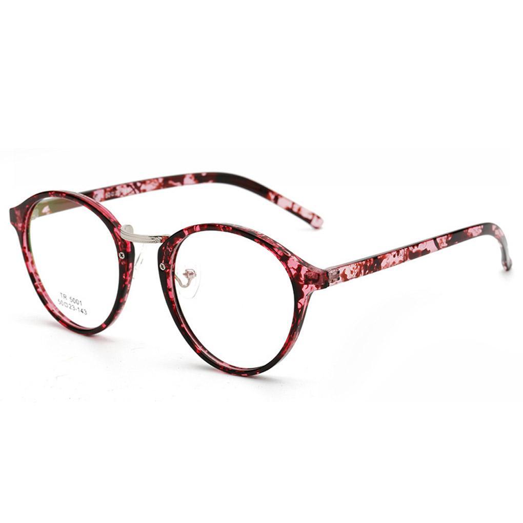 Großhandel Großhandel Vintage Oval Brillen Mann Frauen Runde Ebene ...