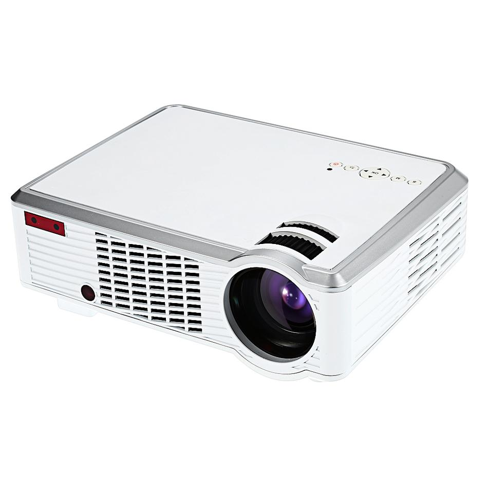 Wholesale- Big Promotion!!! LED - 33 LCD Projector Low Noise Media Player 2600 Lumens 854 x 540 Pixels for Home Office Education Beamer