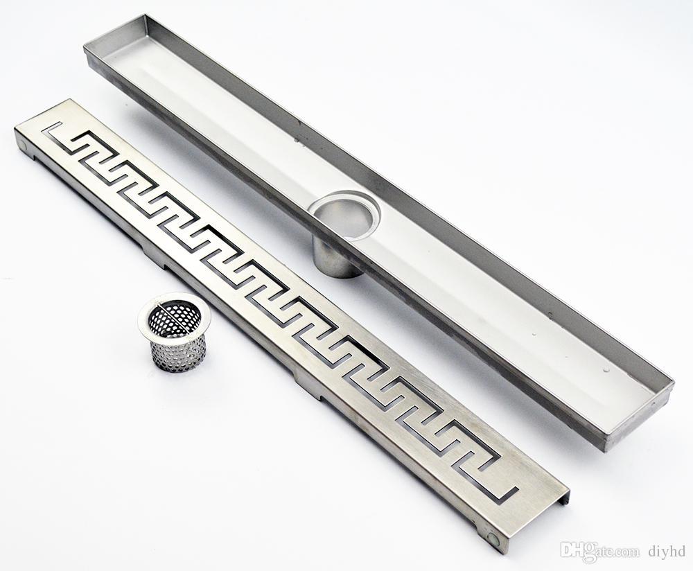 2019 Diyhd Stainless Steel Zipper Cut Shower Linear Drain