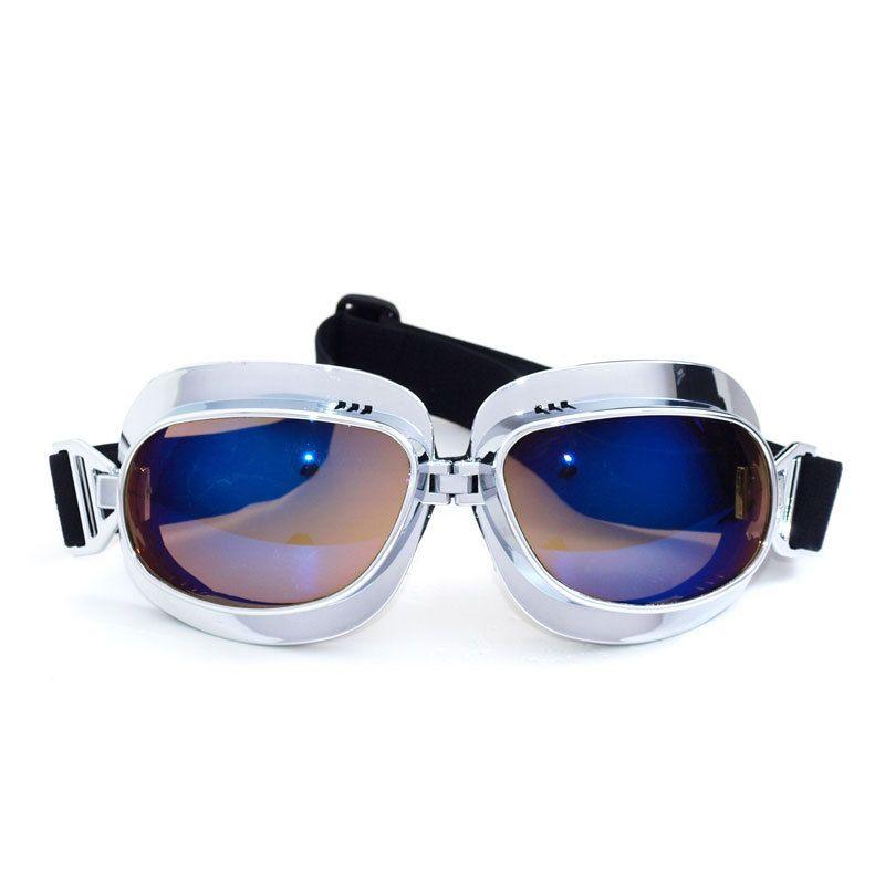 2017 новый мотоцикл шлем очки для ветрозащитный пылезащитный мотоцикл открыть лицо старинные шлем классические очки Очки для Harley солнцезащитные очки