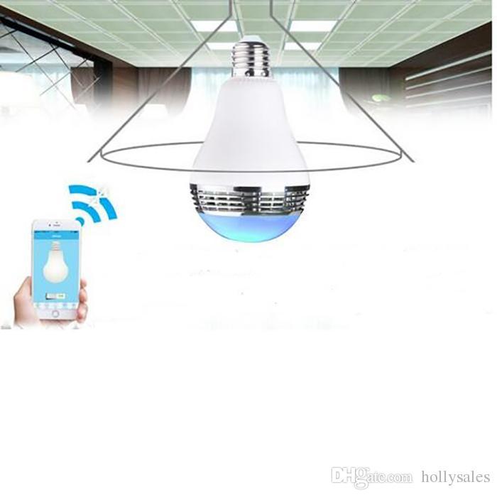 2017 new novelty led rgb bulb light wireless bluetooth LED E27 speaker for iphone samsung smart phone controllable Variable LED light