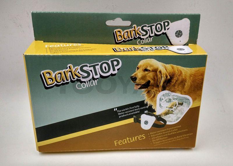 Ultrasonic Anti Barking DogTraining Collars Adjustable PET Dogs Training Stretch Collar Dog Barking Stop Control Collars