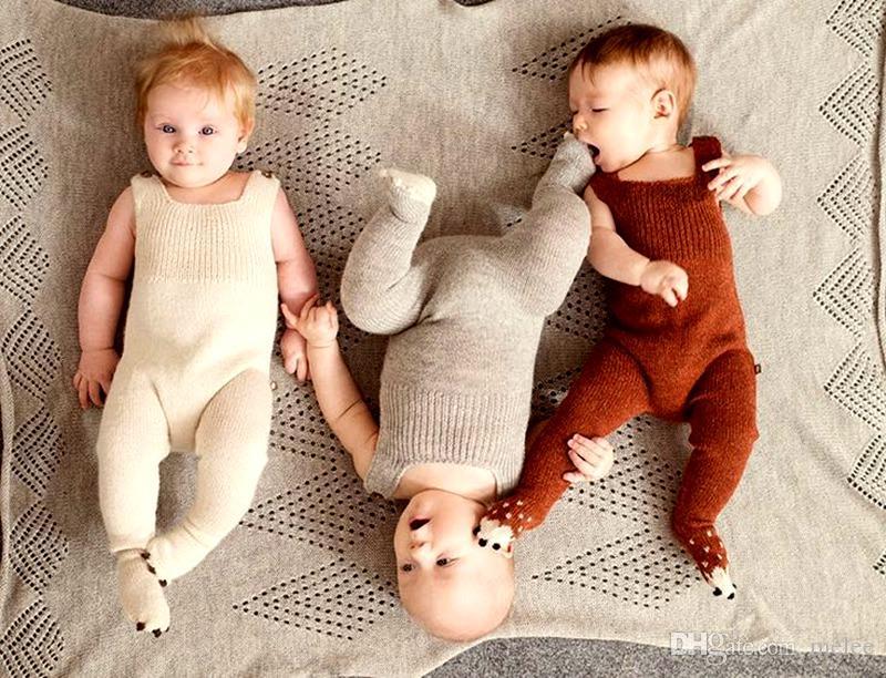 e0da1ad359ce 2019 INS Xmas Hand Knitting Cotton Soft 0 3 Years Newborn Baby Warm ...