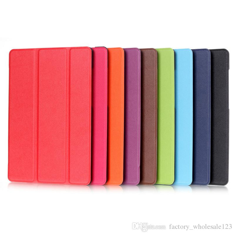 Kindle fire7 leather case Tablet PC Cases Bags Chester protective cover three fold protection shell Tablet PC Accessories 012