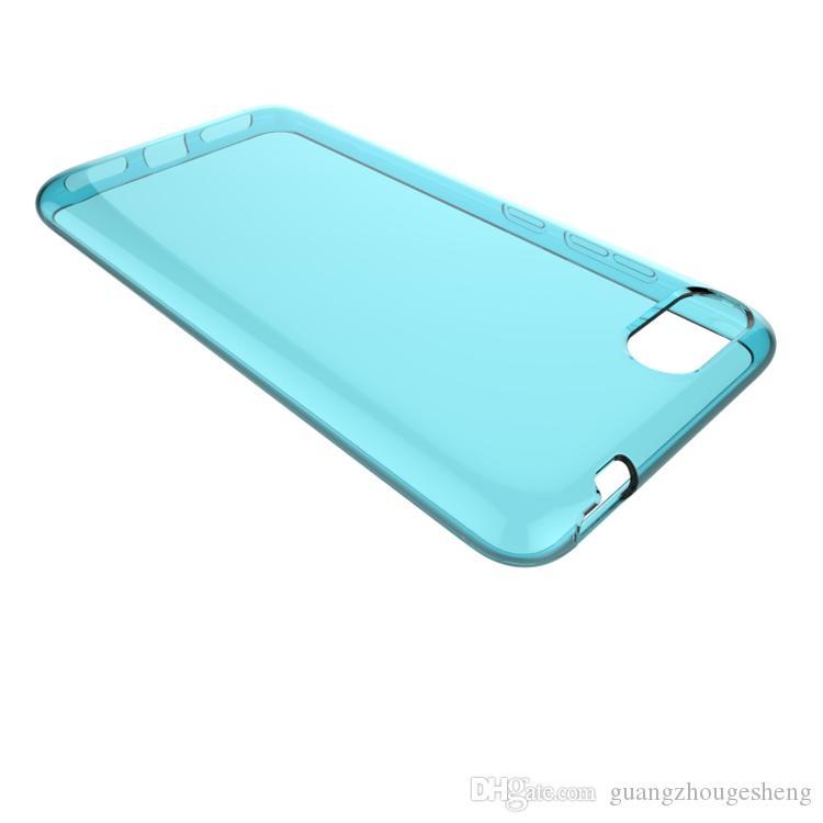 Imperméable À L'eau Transparent Transparent Souple TPU Coque Arrière Cas Pour Asus ZenFone 4 Max Octa Core ZC554KL