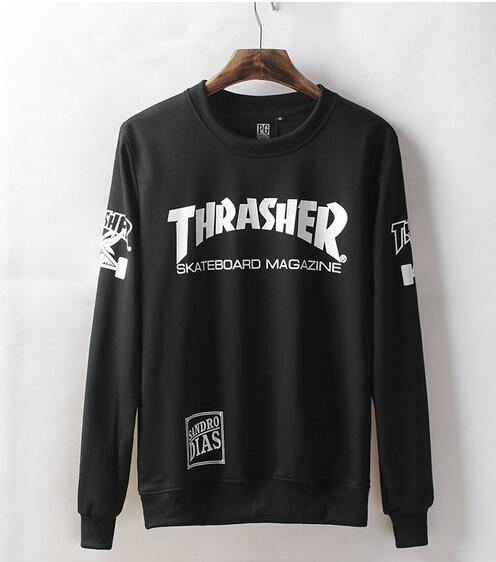 Wholesale-Thrasher Sweatshirts for Men Women Thrasher Letter Print ... 3ca8622ab