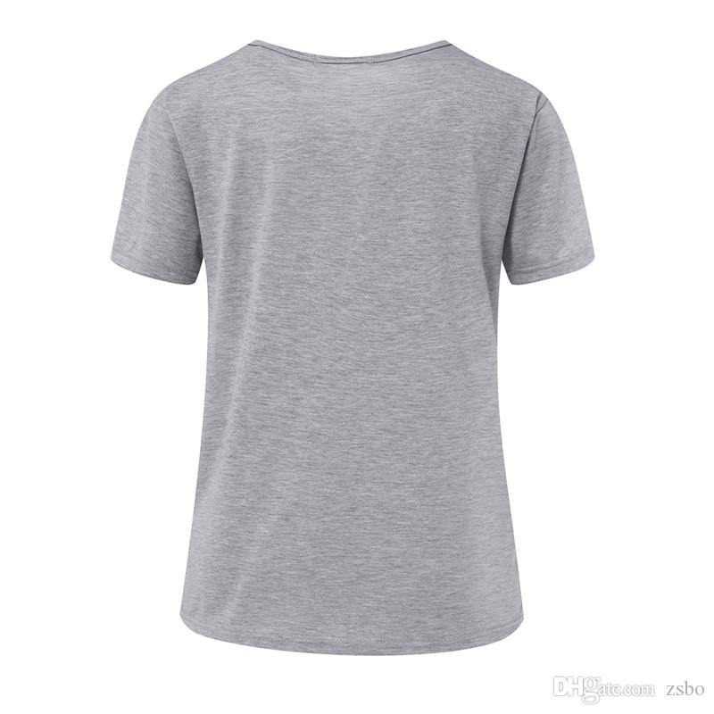ZSIIBO Fashion Funny Günstige Cat Frauen Tasche Cat T-Shirts Freizeitkleidung Kurzarm T-Shirt Weiblich Loose Fit Tops Hip Hop NV09 RF