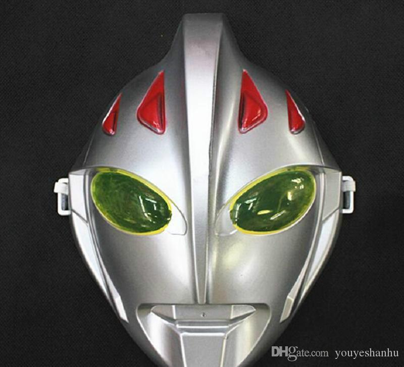 Adultos e Crianças Altman Mask Natal Dos Desenhos Animados Dança Performances Máscara Ultraman Brinquedos