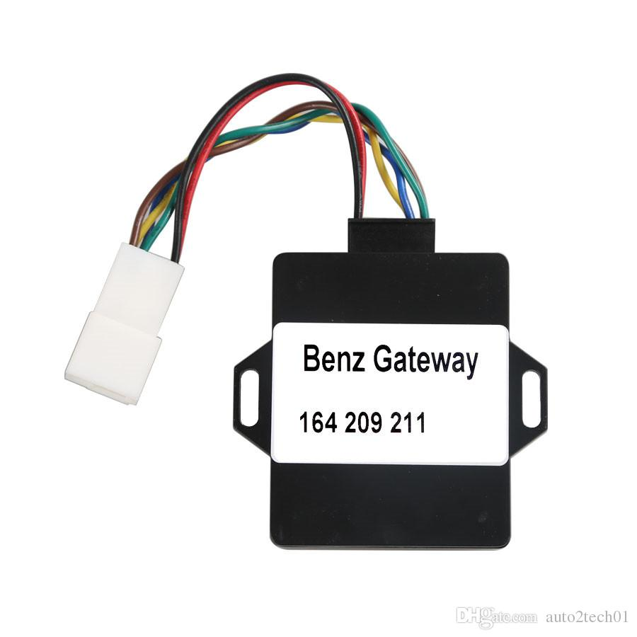 Top Quality Benz A164 W164 Gateway Adapter for VVDI MB BGA TOOL and NEC  PRO57 Diagnostic CGW Adapter W164 Gateway Adapter Free Shipping