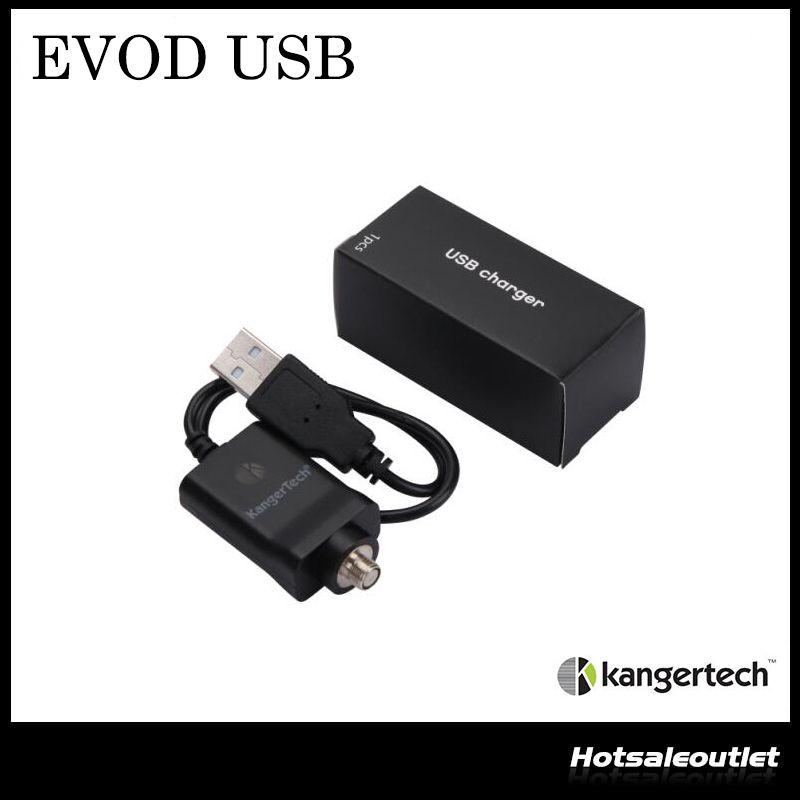 EM ESTOQUE! Original Kanger Cabo USB Kanger EVOD Carregador USB para EVOD / Ipow 2 / Mini Spinner / Nebox