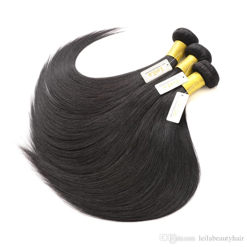 Бразильские волосы девственницы предварительно сорванные 360 кружева фронтальные с пучками кузовной волны 4 штуки / лота человеческие волосы фронтальные наклонки волос