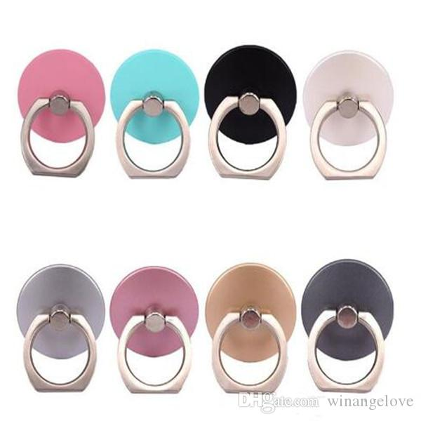 360° Fashion Universal Mobile Phone Ring Stent Cell Phone Ring Holder Finger Grip for iPhone for Xiaomi for Huawei