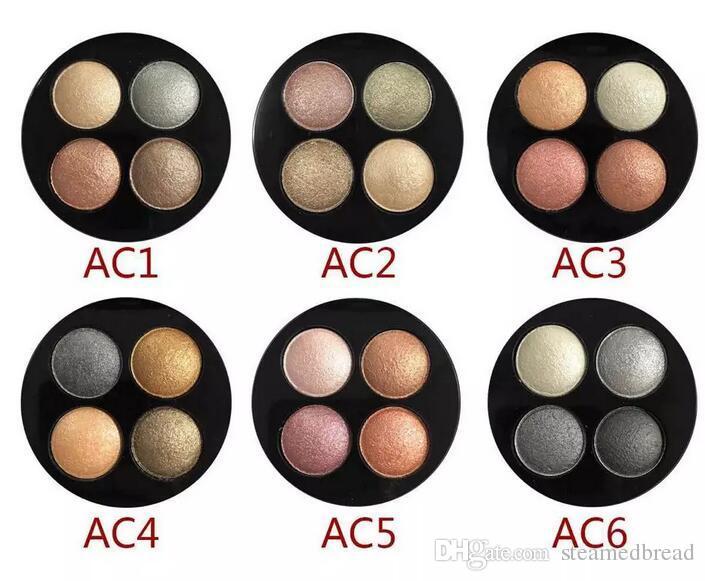 PRESENTE LIVRE QUENTE alta qualidade Melhor-Vendendo Produtos Mais Recentes Maquiagem mineralizar 4 CORES DA SOMBRA