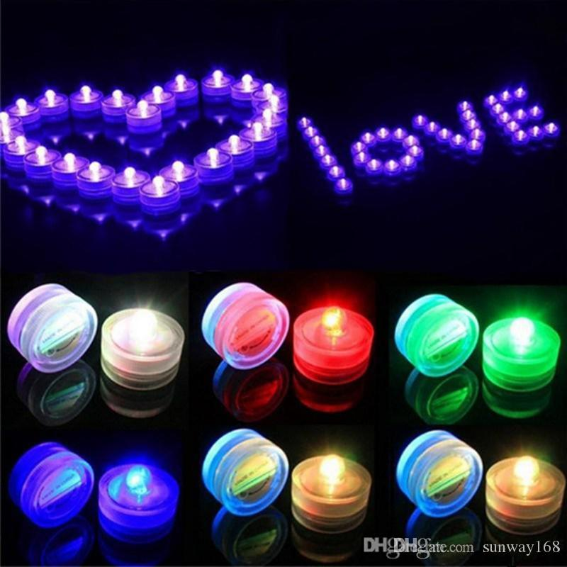 Best 2016 beautiful romantic waterproof submersible led tea light best 2016 beautiful romantic waterproof submersible led tea light holiday birthday wedding decoration multicolor led candle light under 503 dhgate junglespirit Images