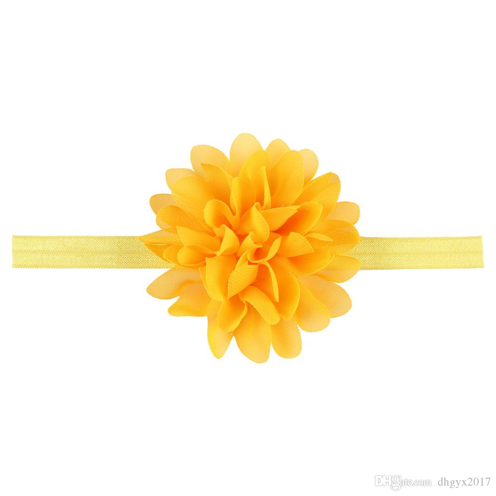 Baby Girl Elastic Hairband Children Hair Wear For Kids Head Band Flower Headband Baby Hair Accessories Wholesale
