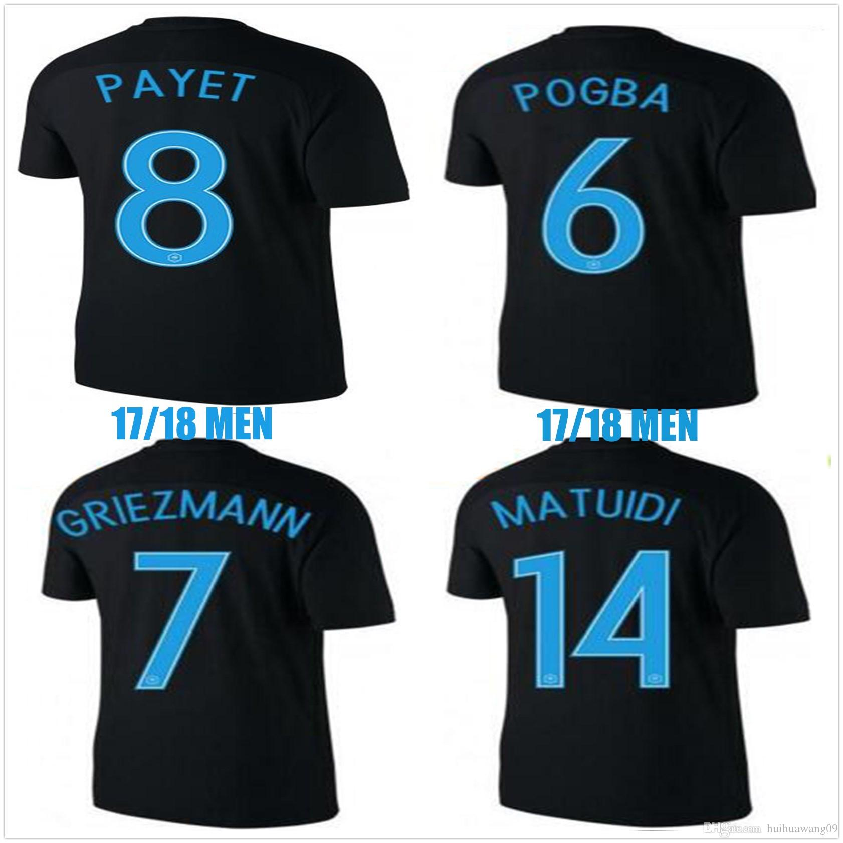Great Benzema World Cup 2018 - 2017-world-cup-france-soccer-jerseys-black  Pic_708687 .jpg