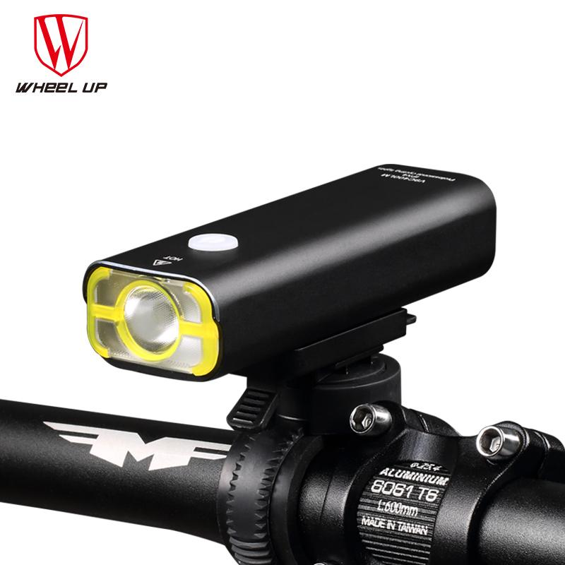 2018 Wheel Up Usb Rechargeable Bike Light Front Handlebar Cycling