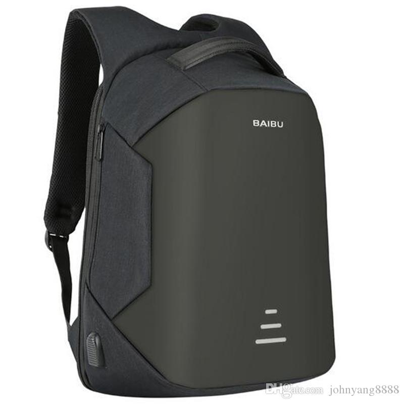 bb689ae2371 Kingson 15.6 Laptop Backpack Anti-Theft Backpack With Usb Charging Men  School Notebook Bag Oxford Waterproof Travel Backpack 15.6 Laptop Backpack  Anti-Theft ...