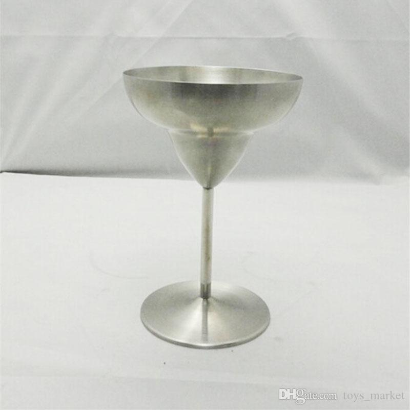 2017 NEW Wine Glasses Martini Margaret Cup Goblet Cocktail glass Stainless Steel Cocktail Red Wine Goblet 260ml
