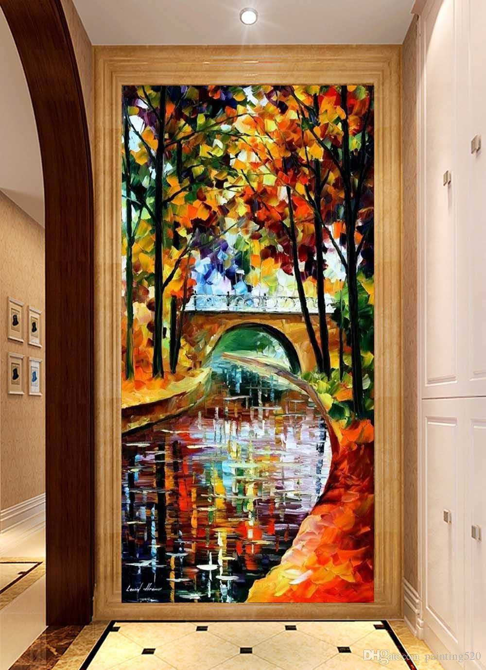 Hochwertige Moderne Wohnzimmer Zimmer Einfache Dekorative Stil Leinwand Ölgemälde Handgemalte Paletten Ölgemälde JL428