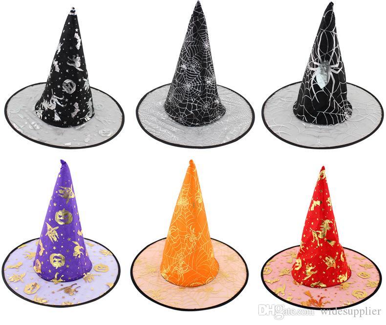 Maquillage coloré Ballroom Halloween Fournitures Variété de Wizards Chapeau Sorcière Style Style Aléatoire 25G Livraison gratuite